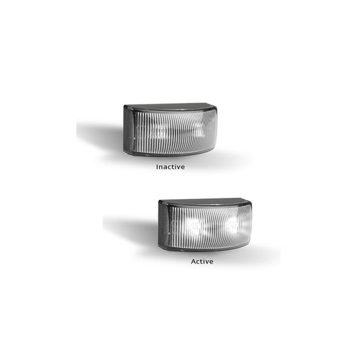 LED Autolamps 5025WMB White Front End Outline Marker - Box of 10