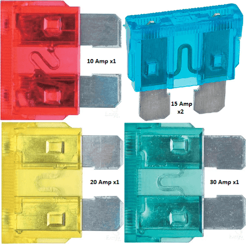 Narva ATS Auto Blade Fuse - Blister Pack of 5