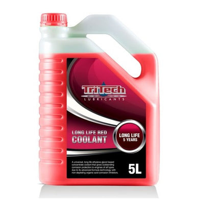 red coolant