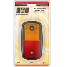 LED Autolamps 69ARM Red/Amber LED Side Marker Lamp
