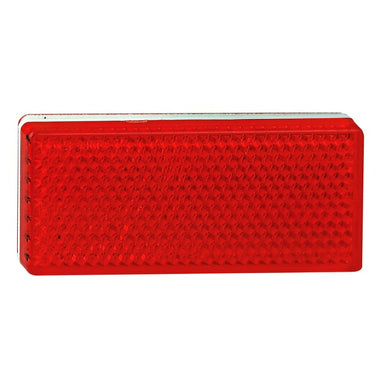 LED Autolamps 7030RB Red Stick On 70 x 30mm Reflector - Each