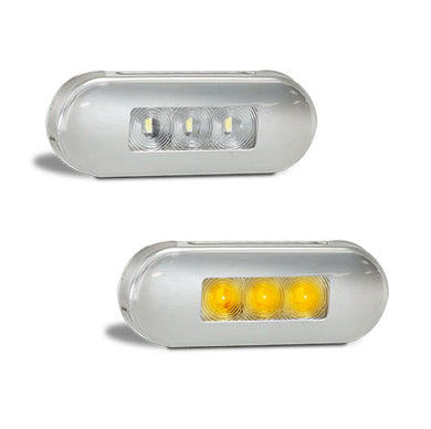 LED Autolamps 86AM Amber Side Marker 12/24 Volt - Each