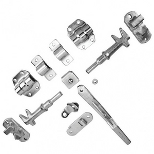 Door Lock Kit suit 27mm Pipe Zinc Plated