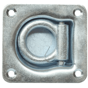Recessed Floor Lashing Ring 4 Bolt Zinc Plated