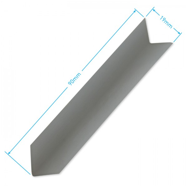 Grey Door Seal Corner Tab