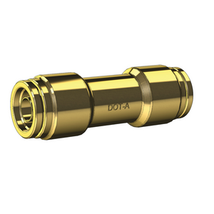 Brass DOT Approved Push-To-Connect Nylon Hose Joiners - Metric