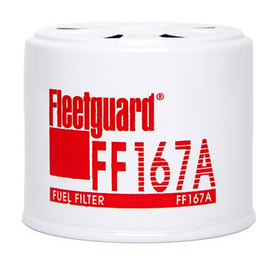 Fleetguard Fuel Filter, Suits Ford, Fiat, Bobcat - FF167A