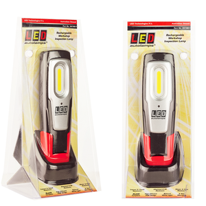 LED Autolamps Rechargeable Work Lamp with Charging Dock