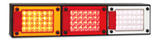 LED Autolamps J3BARWM Jumbo Stop/Tail, Indicator & Reverse Lamp