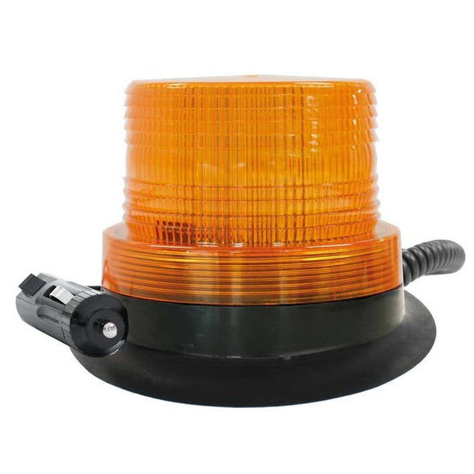 LV Automotive Amber LED Beacon with Magnetic Base 12-80V