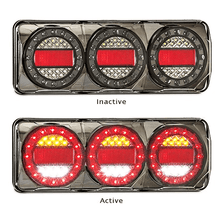 Maxilamp 3 Combination Stop, Tail, Indicator and Reverse - Each