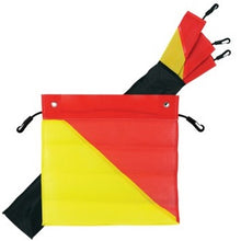 Pack of 4 Red & Yellow Oversize Load Flags - MSOSFLAG CA7230