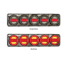 Maxilamp 5 Combination Stop, Tail, Indicator Lamp With Reflector