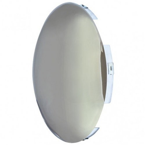 Steer Hub Cap Chrome 8 5/8