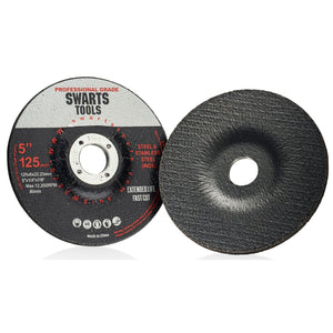 "Swarts Tools 5"" Grinding Wheel for Grinder - Box of 25"