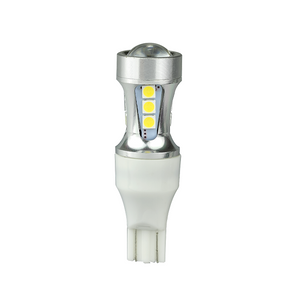 LED Autolamps White 12/24V LED T15 Wedge Globe - T15WM