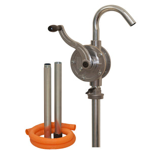 Tecalemit Aluminium Heavy Duty Rotary Drum Pump - TEC60205