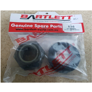 Genuine Bartlett 5-3/5 Nyloc Nut and Washer suit 127mm Ball