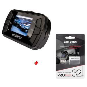 SPECIAL Uniden iGO CAM325 Dash Camera Kit Includes 32GB Samsung SD Card