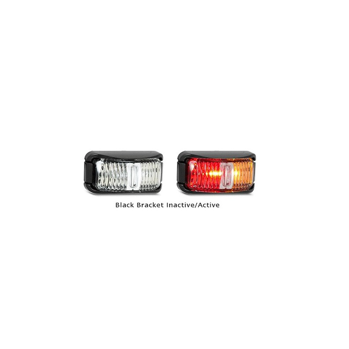 LED Autolamps 42ARM Red & Amber Side Marker - Each
