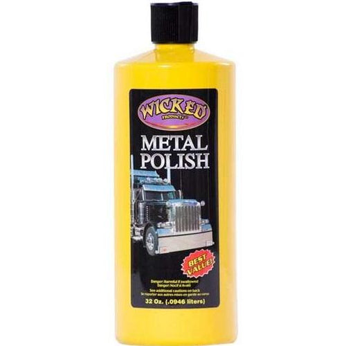 Wicked Products Metal Polish - 946ml
