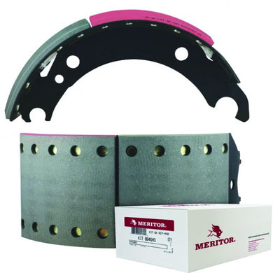 Meritor Premium BPW Brake 95 Brake Shoe & Hardware Kit - MSKMG2ABC36/95
