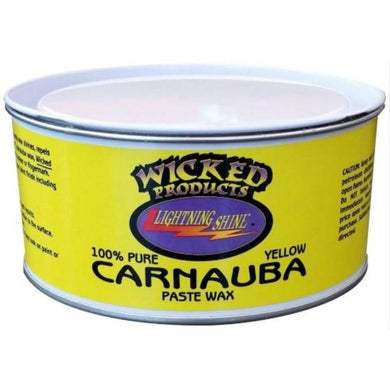 Wicked Products Carnauba Paste Wax - 414ml