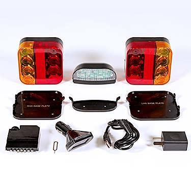 Linka Blinka Wireless Trailer Light Kit - 12 Volt
