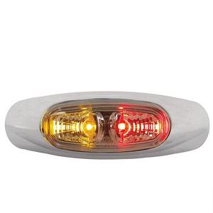 LED Amber/Red Side Marker Lamp - LV0283