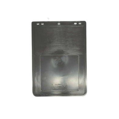 VPG Plain Black Rubber Mudflap 12
