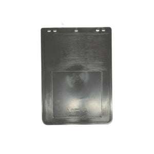 "VPG Plain Black Rubber Mudflap 12"" x 16"""
