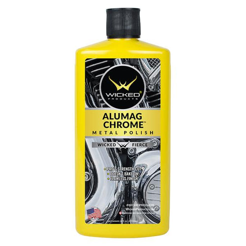 Wicked Products Alumag Chrome Metal Polish - 473 ML
