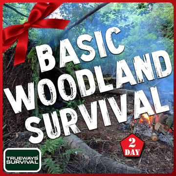 2 DAY BASIC WOODLAND SURVIVAL GIFT PACK