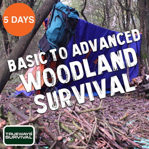 5 DAY BASIC TO ADVANCED WOODLAND SURVIVAL
