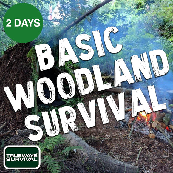 Basic Woodland Survival Course Trueways Survival