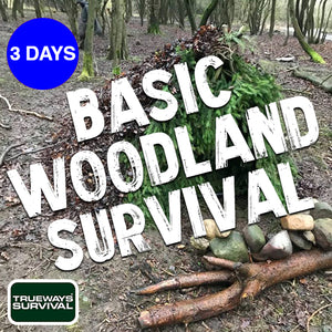 Woodland Bushcraft Survival Course Lessons UK by Trueways Survival