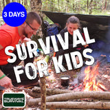 3 DAY WOODLAND SURVIVAL FOR KIDS