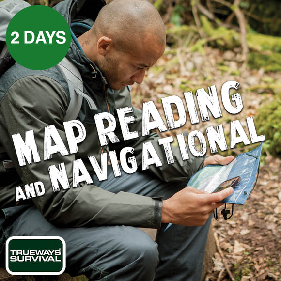 UK Map Reading Course by Trueways Survival