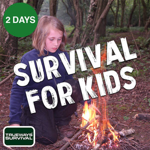 2 DAY WOODLAND SURVIVAL FOR KIDS