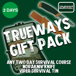 Trueways Survival 2 Day Gift Pack Survival Courses