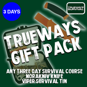 3 Day Trueways Survival Course Gift Pack