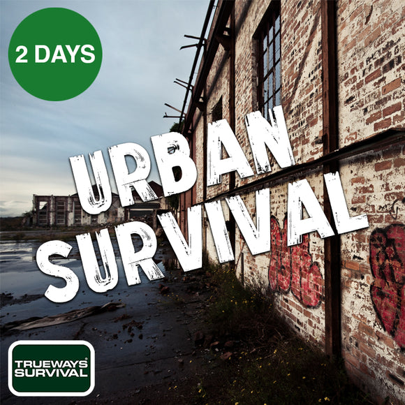 2 DAY URBAN SURVIVAL COURSE