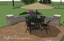 Paver Patio #S-041001-02