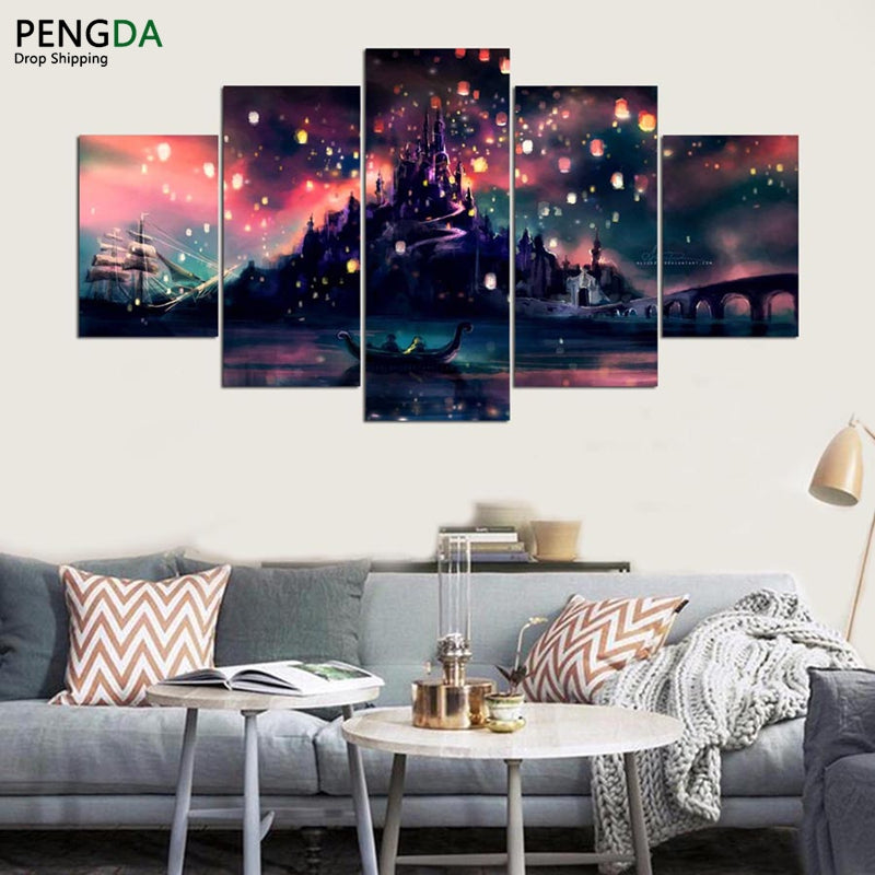 Modular Home Decor Modern Wall Art HD Printed Pictures Room Poster ...