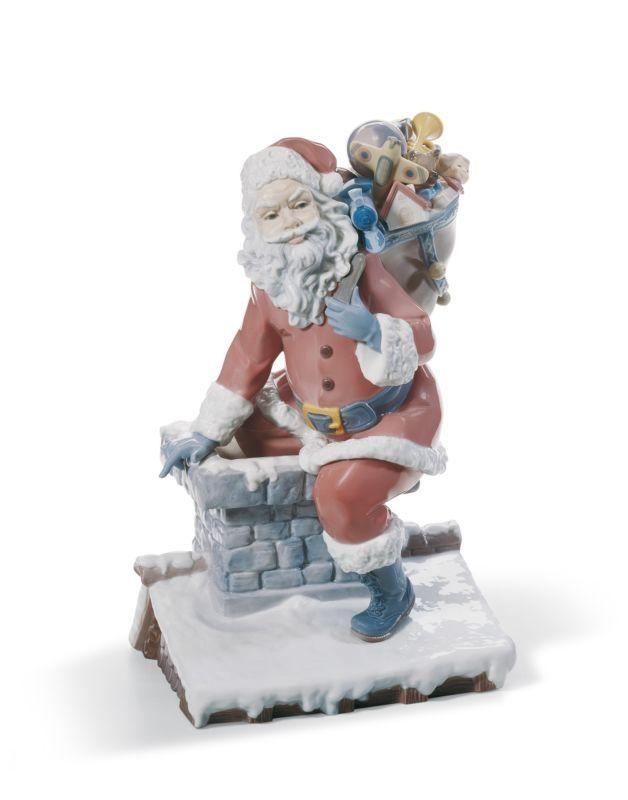 Lladro Home Accessories Default Down The Chimney (Limited Edition)