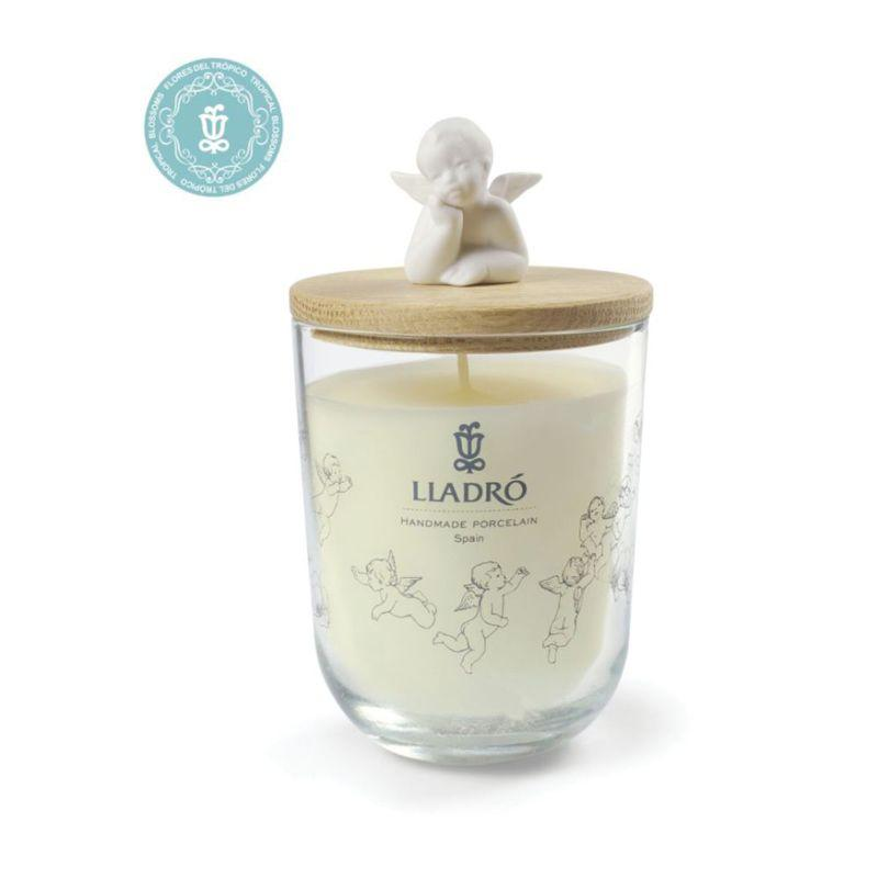 Lladro Home Accessories Default Dreaming Of You Candle-Tropical Blossoms