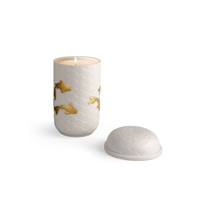 Lladro Home Accessories Default Golden Kois Candle. A Secret Orient Scent