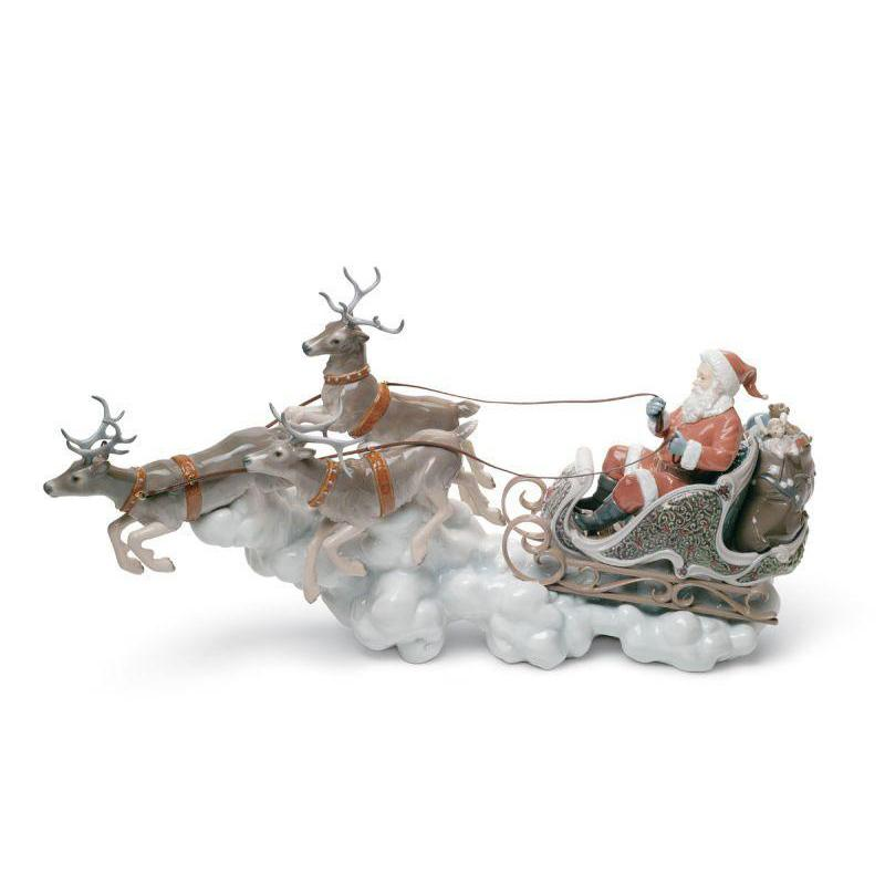 Lladro Home Accessories Default Santa's Midnight Ride (Limited Edition)
