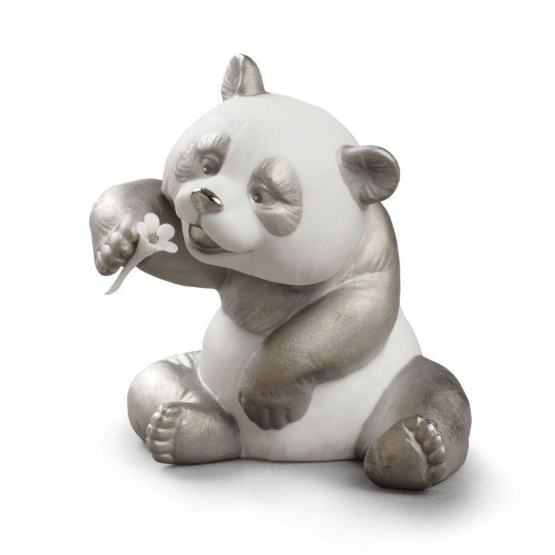 Lladro Inspiration Default A Cheerful Panda (Re-Deco)
