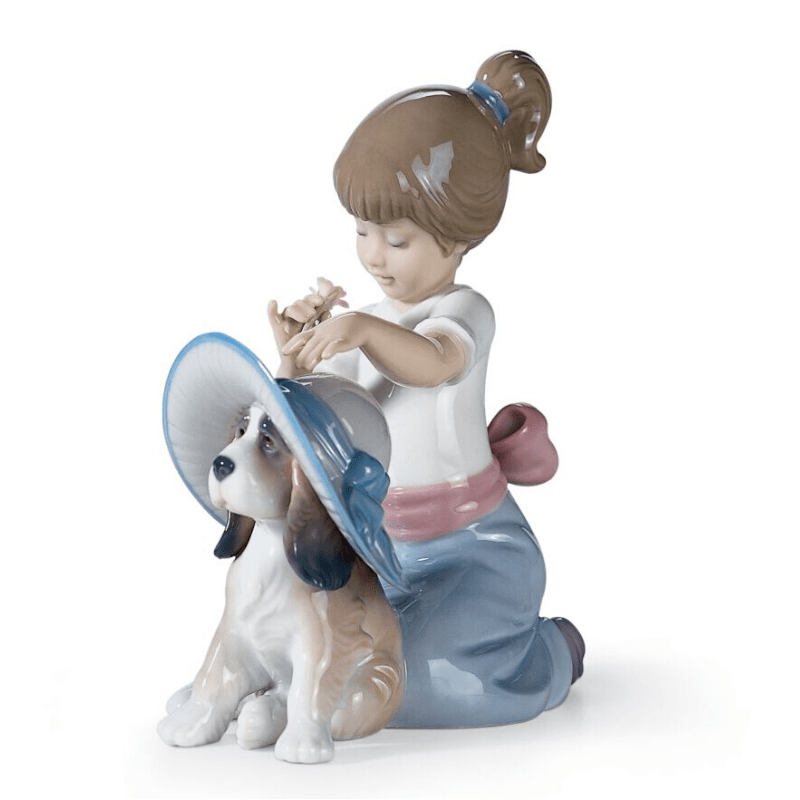 Lladro Inspiration Default An Elegant Touch Girl Figurine